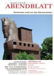 Rundreise rund um das Marmarameer - Leserreisen - Berliner ...