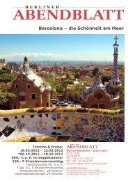 Barcelona – die Schönheit am Meer - Leserreisen - Berliner ...