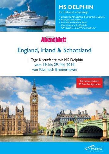 England, Irland & Schottland - Berliner Abendblatt Leserreisen
