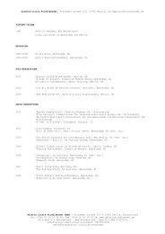 VV 11 GCF CV engl - Galerie Cinzia Friedlaender