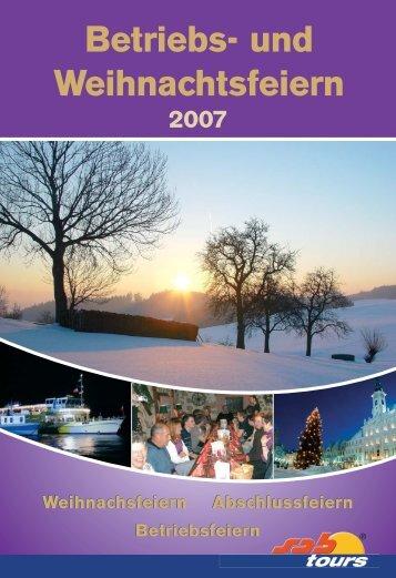 Betriebs- und Weihnachtsfeiern - Kneissl Touristik