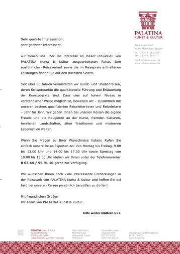 Farben und Düfte einer romantischen Landschaft - Palatina-reisen.de