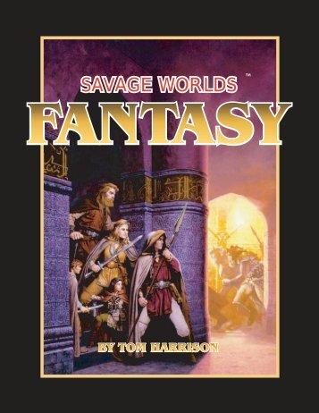 SAVAGE WORLDS SAVAGE WORLDS - Savage Heroes