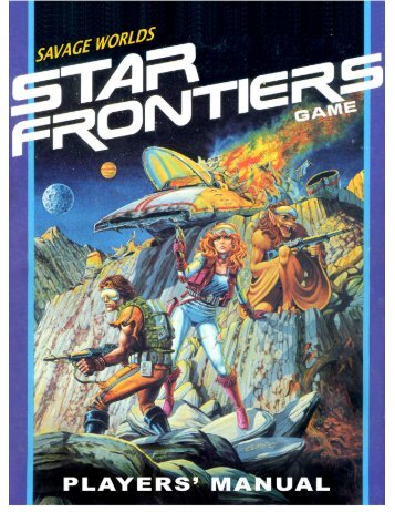 Star Frontiers Players Guide - Savage Heroes