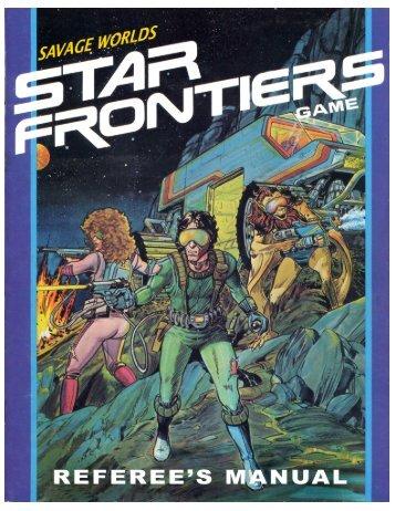 Star Frontiers GM Guide - Savage Heroes
