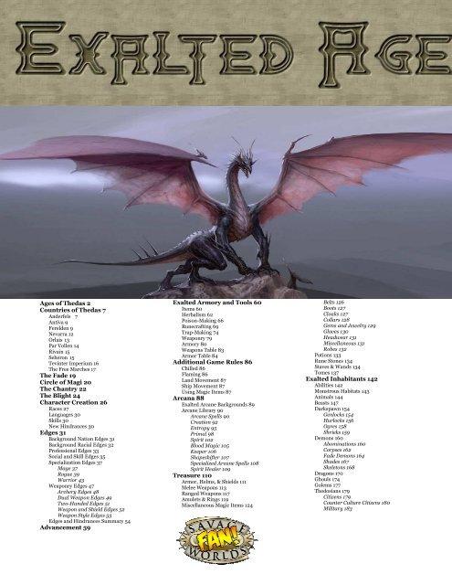 Savage Worlds - Exalted Age - Savage Heroes