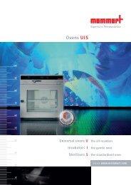 Memmert Ovens UIS - Levanchimica