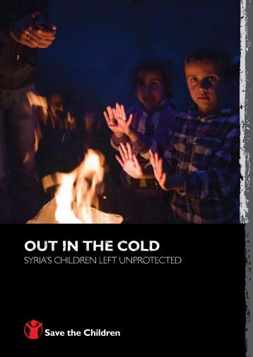 out in the cold - Save the Children Canada