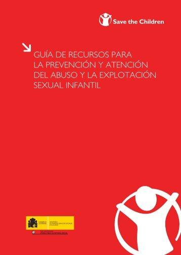 guía de recursos para la prevención y atención del abuso y la ...