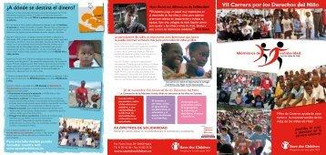 ¿A dónde se destina el dinero? - Save the Children