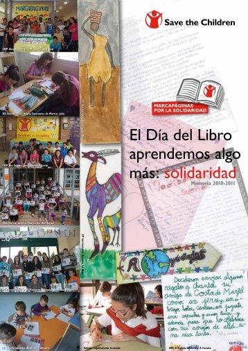 más: solidaridad - Save the Children