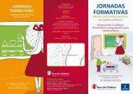 jornadas formativas provinciales para ludotecas - Save the Children