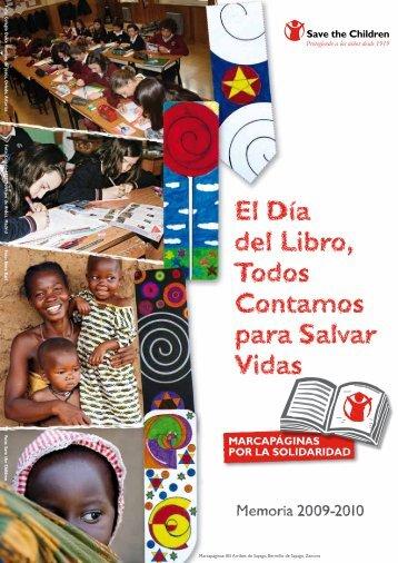 El Día del Libro, Todos Contamos para Salvar ... - Save the Children