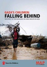 GAZA'S CHILDREN: fALLING BEHIND - Free Gaza Movement