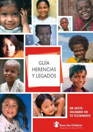 GUÍA HERENCIAS Y LEGADOS - Save the Children