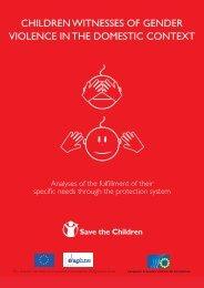 CHILDREN WITNESSES OF GENDER ... - Save the Children