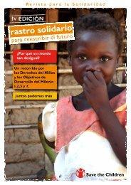 Revista para la Solidaridad - Save the Children