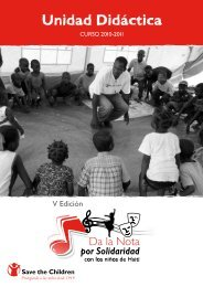 Unidad Didáctica - Save the Children