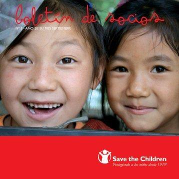 Boletín de Socios 3 - Save the Children