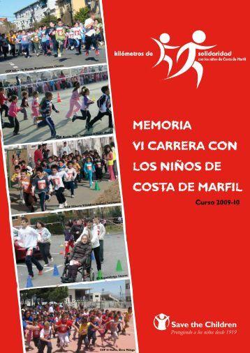 MEMORIA VI CARRERA CON LOS NIÑOS DE ... - Save the Children