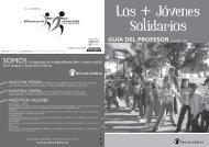 GUÍA DEL PROFESOR Curso 2010 - 2011 - Save the Children