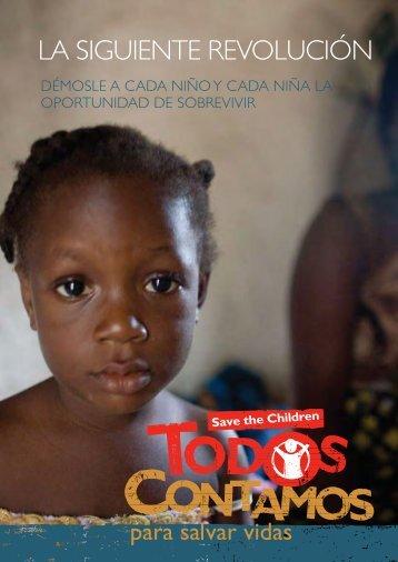 La siguiente revolución - Save the Children