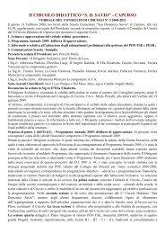 """ii circolo didattico """"sd savio"""" - capurso - Istituto Comprensivo San ..."""