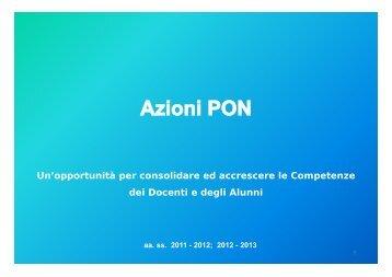 Azioni PON