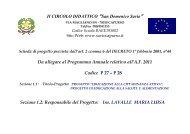 Scheda Progettuale Cittadinanza Attiva - Istituto Comprensivo San ...