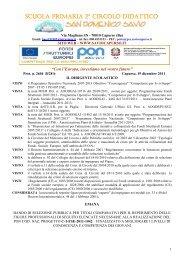 Reclutamento esperti esterni PON C1 a.s. 2011-2012 - Istituto ...