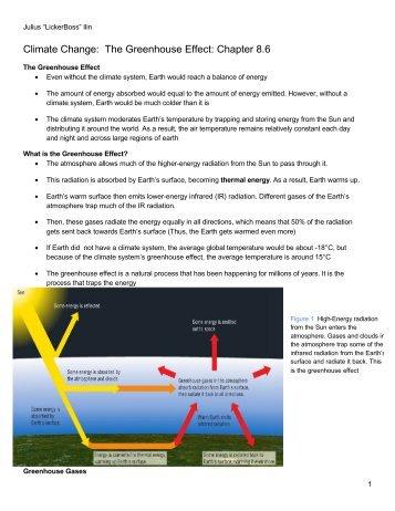 6-Greenhouse Effect - Savita Pall and Chemistry