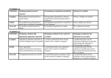 (a) CRITERIA Defining problem/research question - Savita Pall and ...