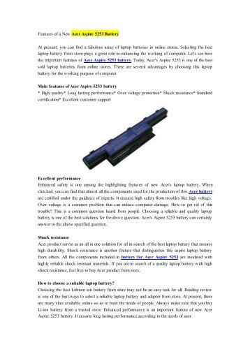 Features of a New Acer Aspire 5253 Battery.pdf