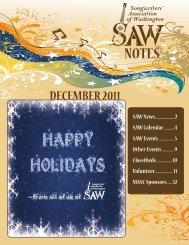 DECEMBER 2011 - Songwriters' Association of Washington