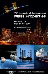 2011 SAWE International Conference Program (pdf)