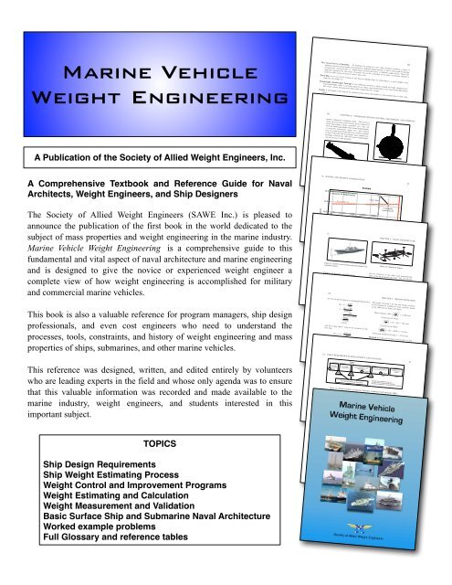 Marine Vehicle Weight Engineering Flyer Pdf Society Of Allied