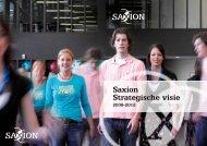 strategische visie 2008-2012 - Sax.nu