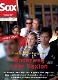 Strijden tegen plagiaat - Sax.nu