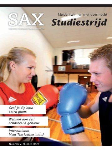 Studiestrijd - Sax.nu