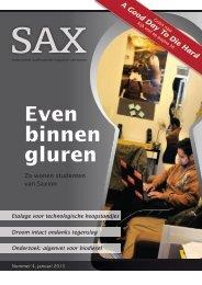 Even binnen gluren - Sax.nu