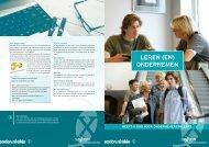 brochure 'Leren (en) Ondernemen' - Sax.nu