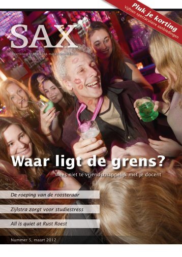 Maart 2012 - Sax.nu