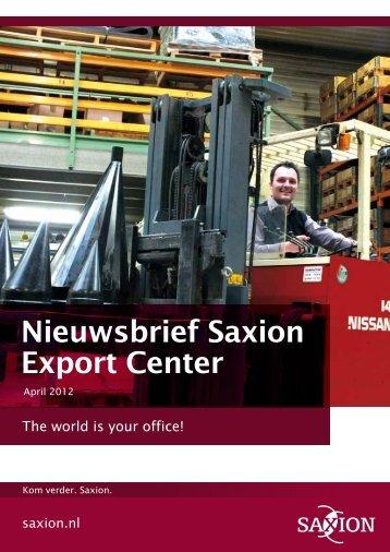 Nieuwsbrief Saxion Export Center