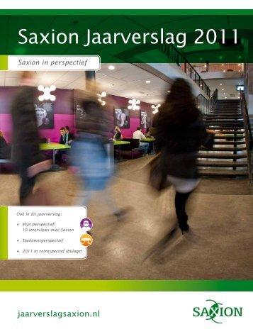 Jaarverslag 2011.pdf - Saxion Hogescholen