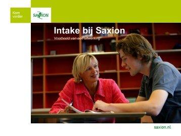 Workshop Intake
