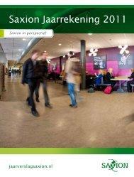Jaarrekening 2011.pdf - Saxion Hogescholen