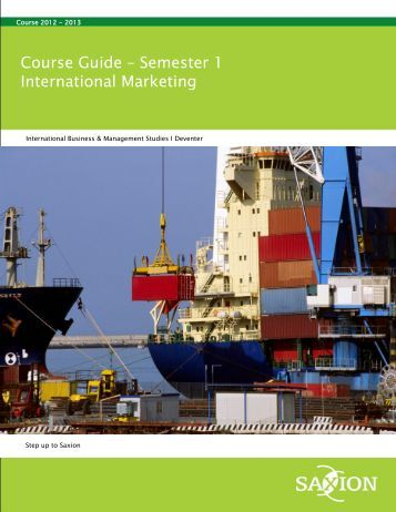 international marketing coursework International marketing is a key driver of success in today's dynamic international organisations this module will give you an insight into international emerging marketing concepts and tools, and how these are applied to deliver results.