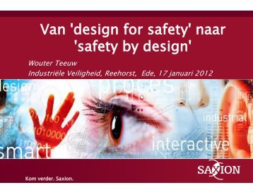 naar 'safety by design'
