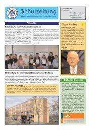 Ausgabe 2/2013 - Saxony International School