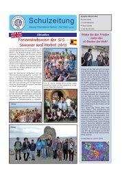 Ausgabe 3/2012 - Saxony International School